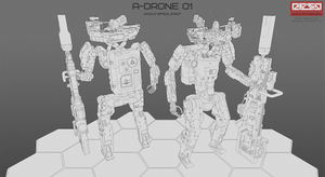 A-DRONE 01 by HYDROGEARS