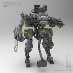 THEROPODA (render) by HYDROGEARS