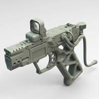 Railgun pistol WIP