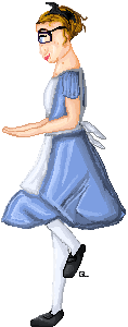 Me as Alice. by guitarlove6437