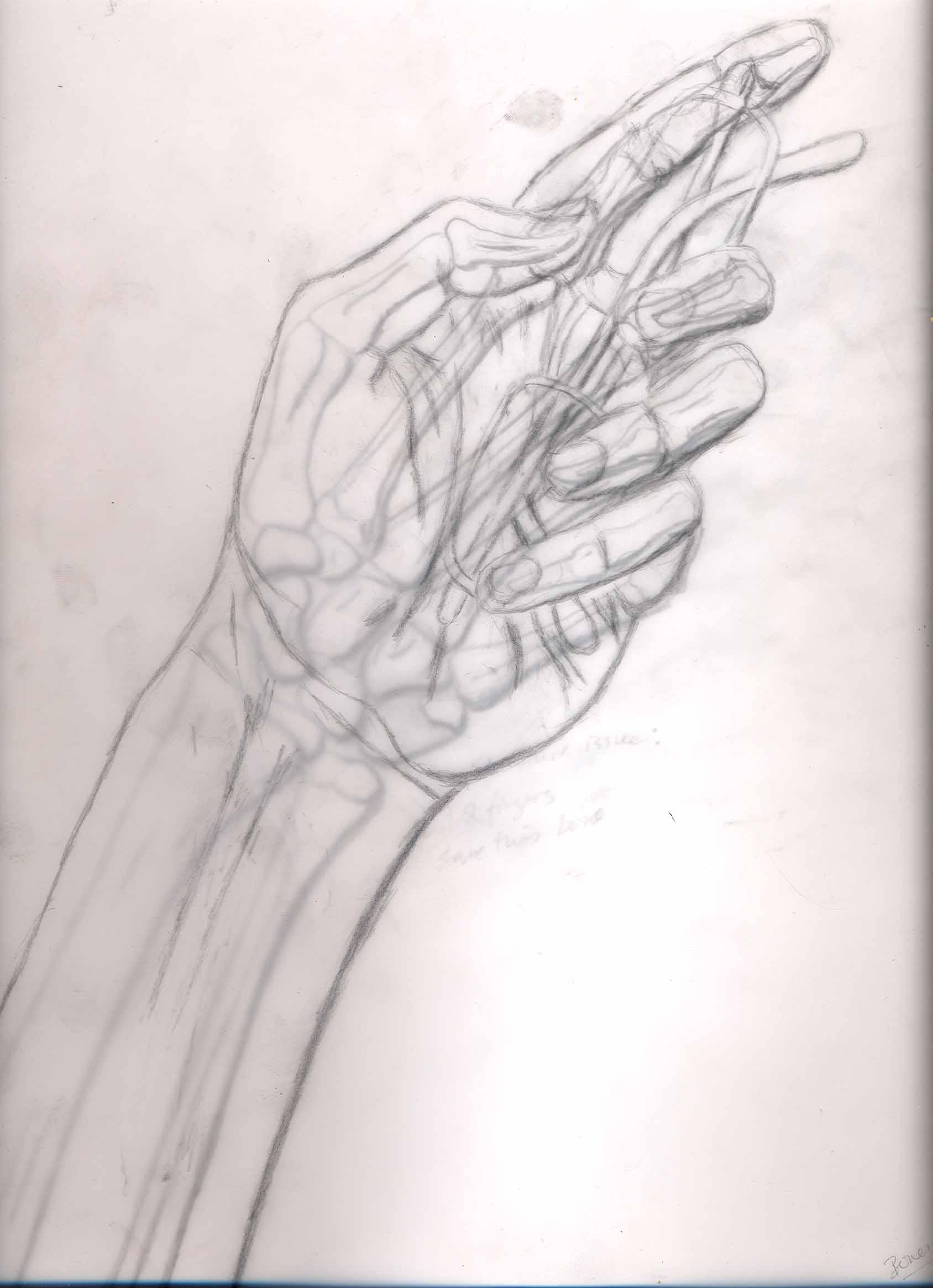 My hand holding my glasses by arkainmon on deviantart for Hand holding a rose drawing