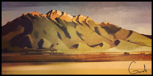Mountains by GaudiBuendia