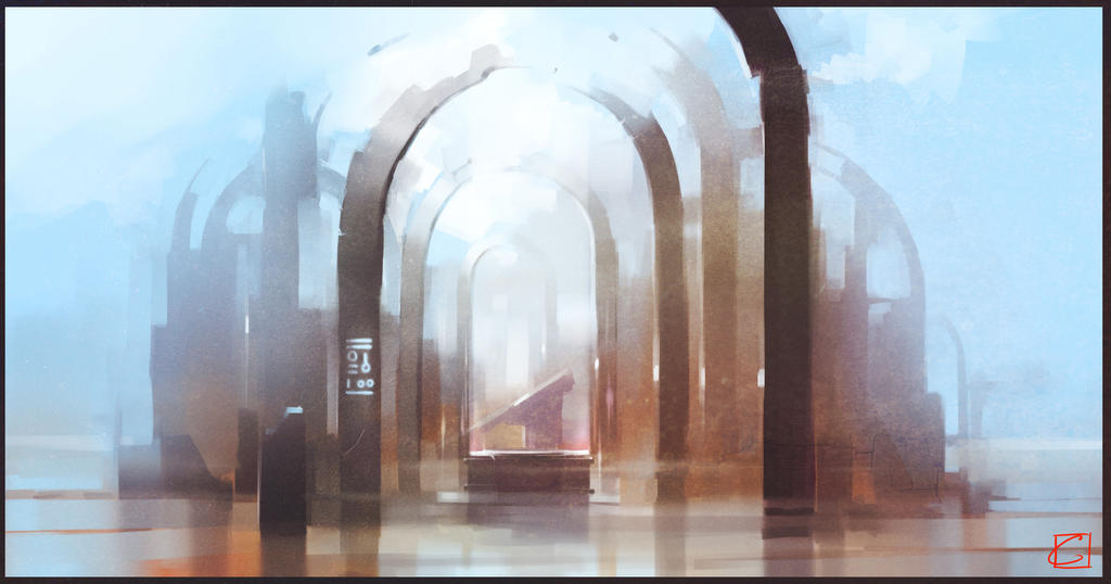 forgotten church by GaudiBuendia