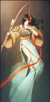 Yabusame lady2