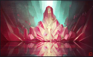 crystal throne