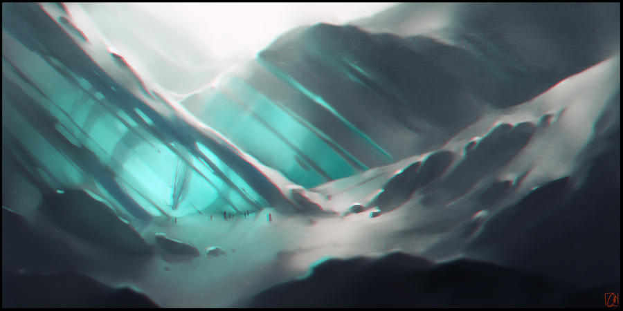 Ice Land by GaudiBuendia