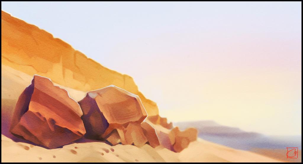 Rocks by GaudiBuendia