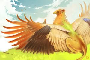 Griffin by GaudiBuendia