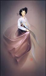 Hanbok2 by GaudiBuendia
