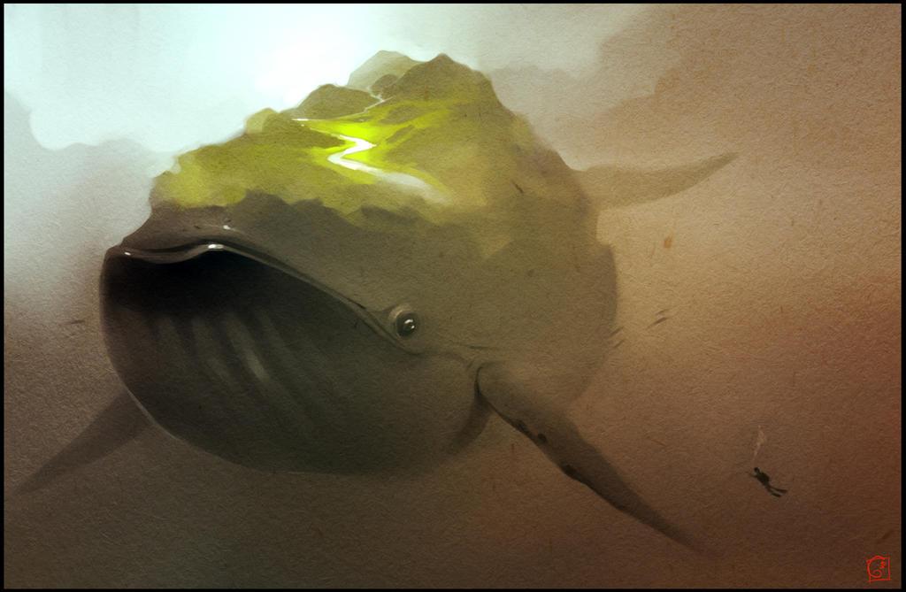 Whale by GaudiBuendia