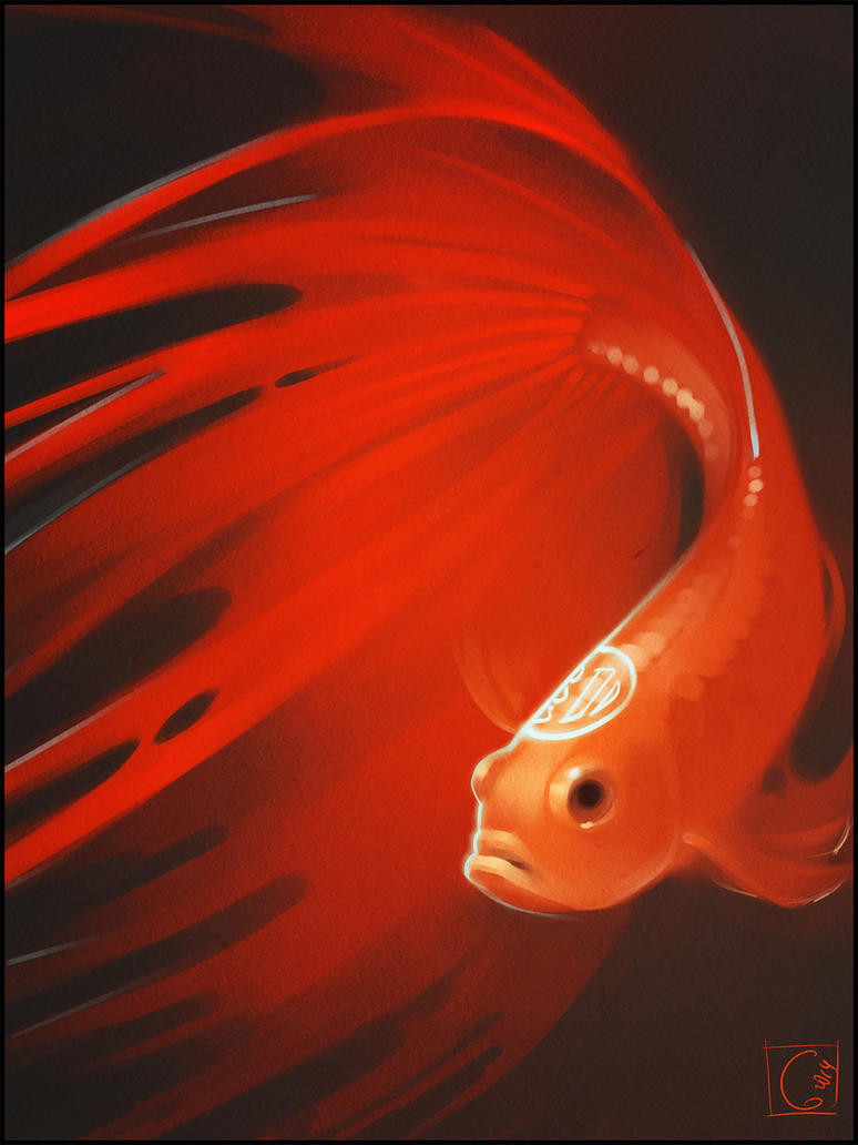 red fish by GaudiBuendia on DeviantArt
