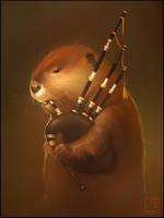 beaver by GaudiBuendia
