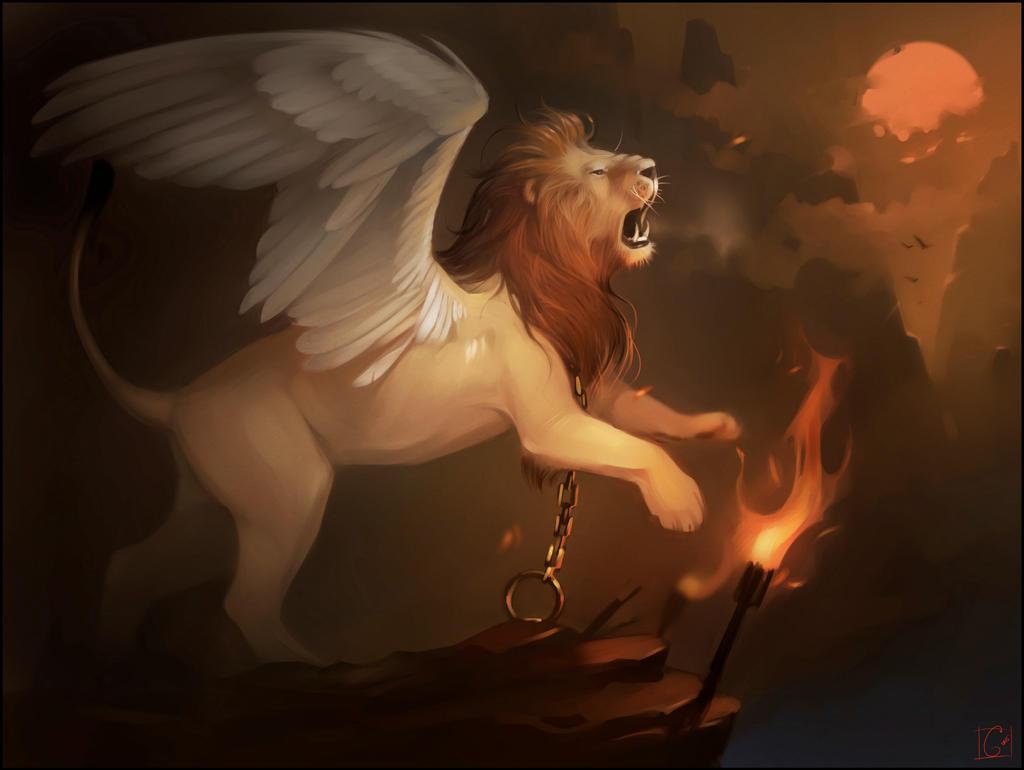 lion by GaudiBuendia