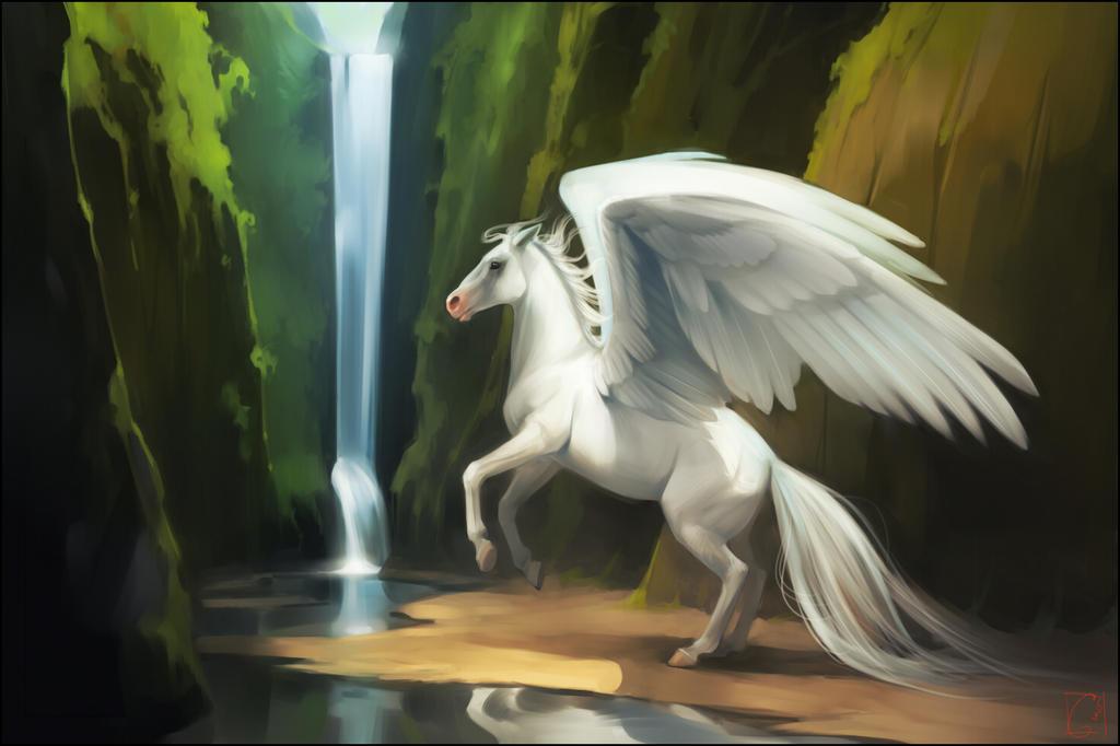 Pegasus by GaudiBuendia