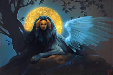 sphinx by GaudiBuendia