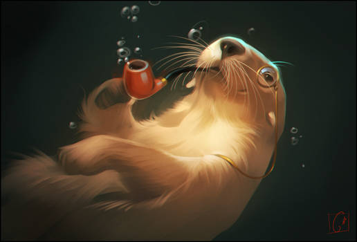 Mr. Otter by GaudiBuendia