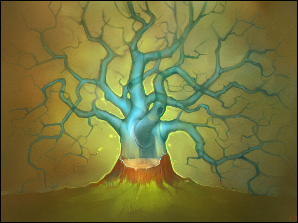 soul of the tree by GaudiBuendia