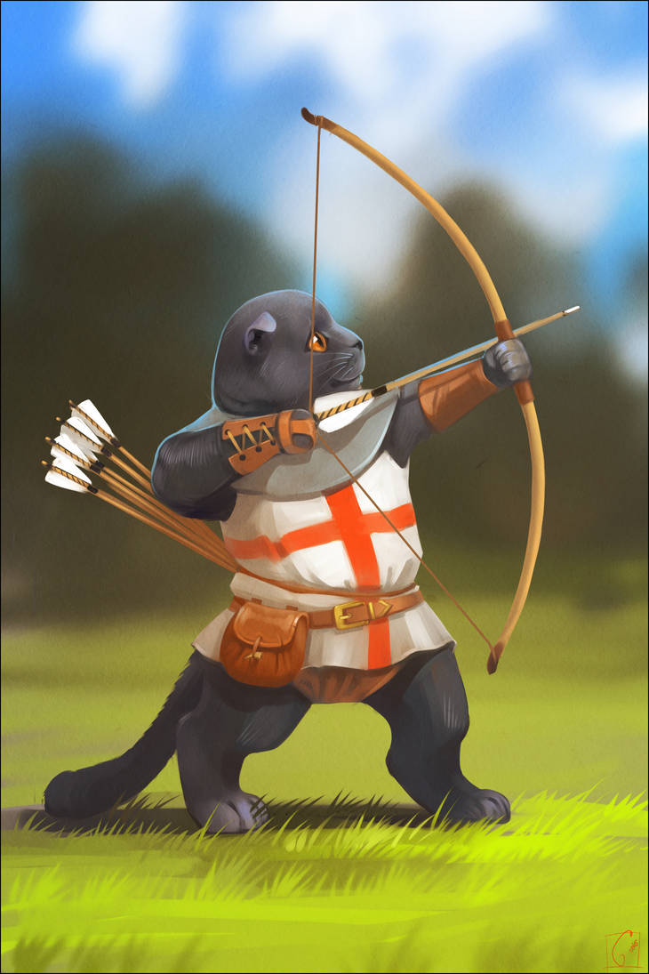 English archer by GaudiBuendia