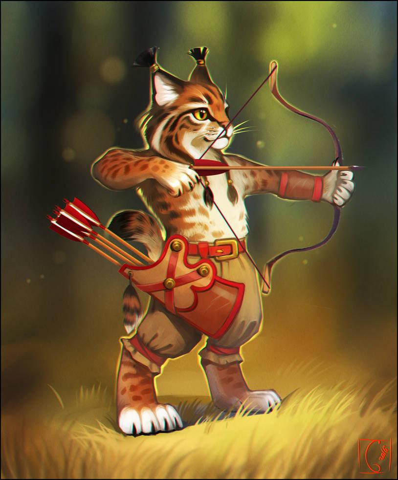 lynx-archer by GaudiBuendia