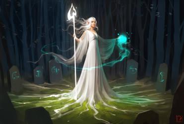 White magic by GaudiBuendia