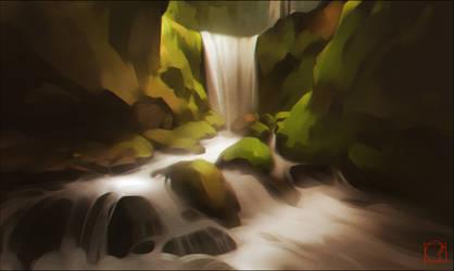 waterfall by GaudiBuendia