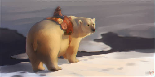 polar bear by GaudiBuendia