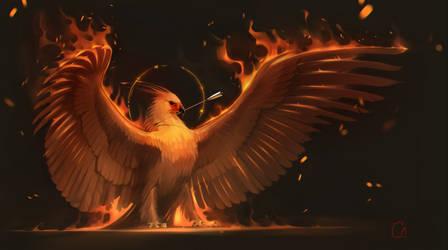 phoenix by GaudiBuendia