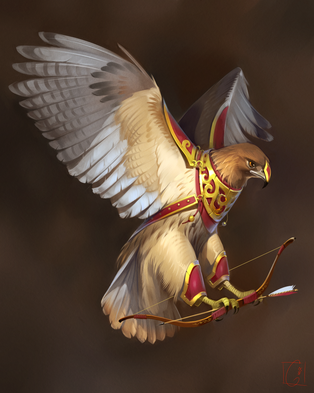 Eagle by GaudiBuendia