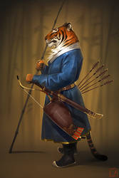 tiger by GaudiBuendia