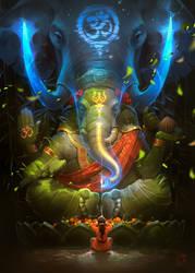 Ganesha by GaudiBuendia