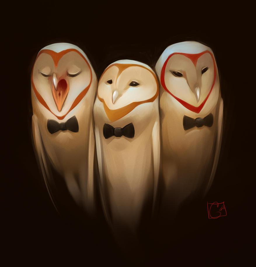 Tre Tenori by GaudiBuendia
