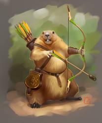 marmot by GaudiBuendia