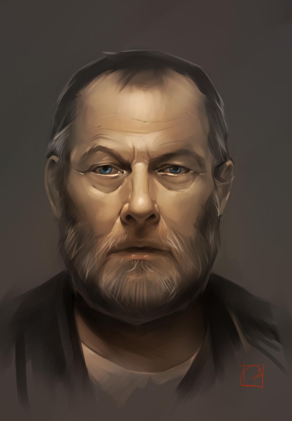portrait study by GaudiBuendia
