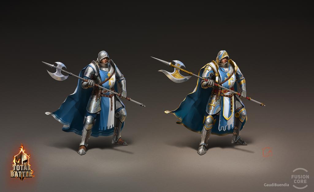 halberd_knight by GaudiBuendia