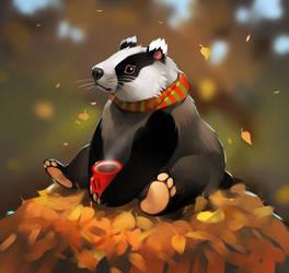 badger by GaudiBuendia