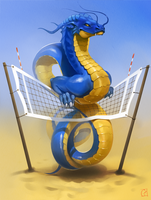 blue_and_yellow dragon
