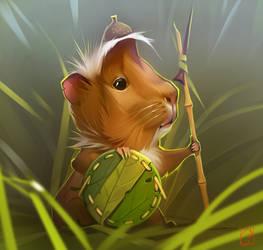 The guinea pig by GaudiBuendia