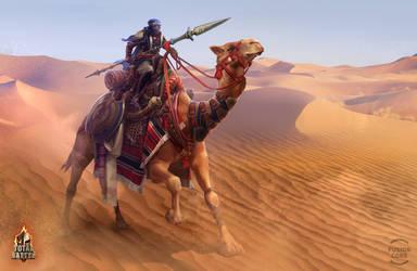 camel rider by GaudiBuendia