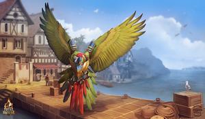 battle parrot