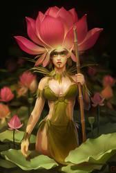 lotus spirit by GaudiBuendia