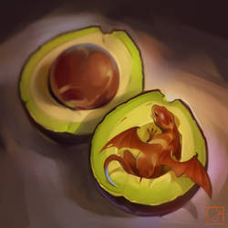 avocado dragon