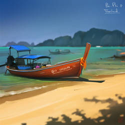 Phi Phi island. Thailand