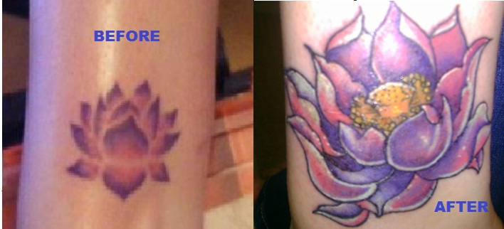 Lotus Flower Cover Up Tattoo By Ree1986 On Deviantart