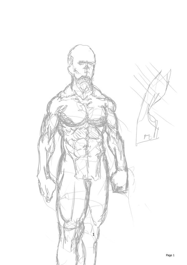Sketch - Male Anatomy by Noobiesk8r on DeviantArt
