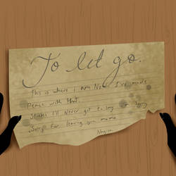 To let go(Mini event) ''I'm sorry'' by Candy-waterfalls