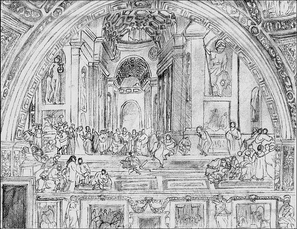 Art Project: School of Athens Quick Sketch by mymiscellaneous on ...