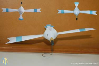Wingull Mini Papercraft by aquametal