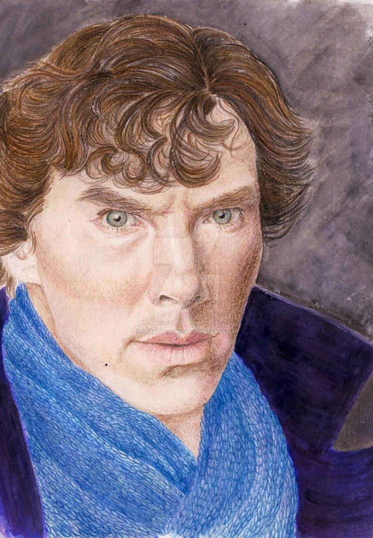 Sherlock Holmes by aiisblueapple