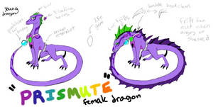 Prismute The Dragoness (a gift from a friend)