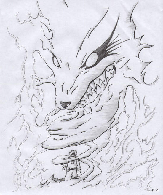 Ninetails Naruto By KilikX On DeviantArt